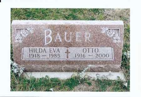 BAUER, HILDA EVA - McIntosh County, North Dakota | HILDA EVA BAUER - North Dakota Gravestone Photos