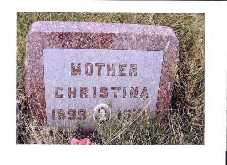 BAUMAN, CHRISTINA - McIntosh County, North Dakota | CHRISTINA BAUMAN - North Dakota Gravestone Photos