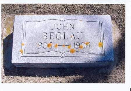 BEGLAU, JOHN - McIntosh County, North Dakota   JOHN BEGLAU - North Dakota Gravestone Photos