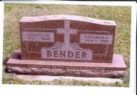 BERTSCH BENDER, LEONTINE - McIntosh County, North Dakota | LEONTINE BERTSCH BENDER - North Dakota Gravestone Photos