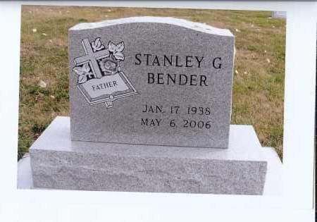 BENDER, STANLEY G. - McIntosh County, North Dakota | STANLEY G. BENDER - North Dakota Gravestone Photos