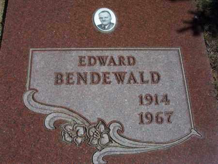BENDEWALD, EDWARD - McIntosh County, North Dakota | EDWARD BENDEWALD - North Dakota Gravestone Photos