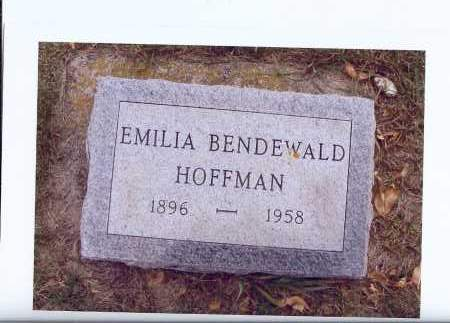 BENDEWALD, EMILIA - McIntosh County, North Dakota | EMILIA BENDEWALD - North Dakota Gravestone Photos