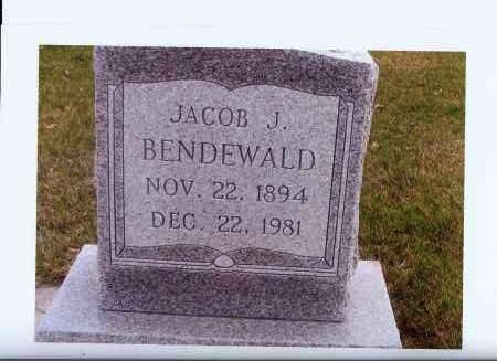 BENDEWALD, JACOB J. - McIntosh County, North Dakota | JACOB J. BENDEWALD - North Dakota Gravestone Photos