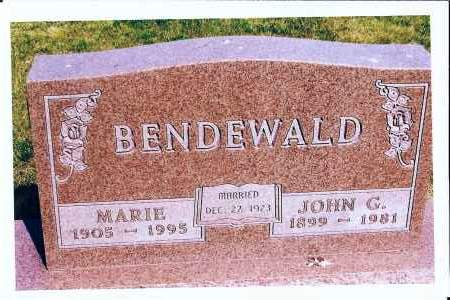 BENDEWALD, MARIE - McIntosh County, North Dakota | MARIE BENDEWALD - North Dakota Gravestone Photos