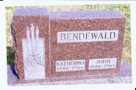 BENDEWALD, KATHERINA - McIntosh County, North Dakota | KATHERINA BENDEWALD - North Dakota Gravestone Photos