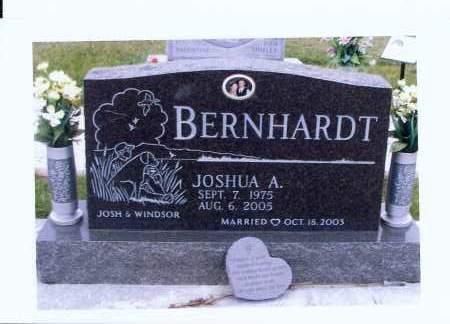 BERNHARDT, JOSHUA A. - McIntosh County, North Dakota   JOSHUA A. BERNHARDT - North Dakota Gravestone Photos