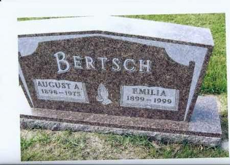 BERTSCH, EMILIA - McIntosh County, North Dakota   EMILIA BERTSCH - North Dakota Gravestone Photos