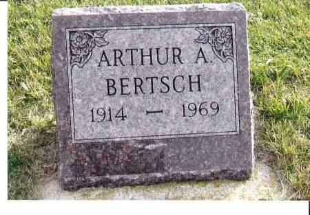 BERTSCH, ARTHUR A. - McIntosh County, North Dakota   ARTHUR A. BERTSCH - North Dakota Gravestone Photos