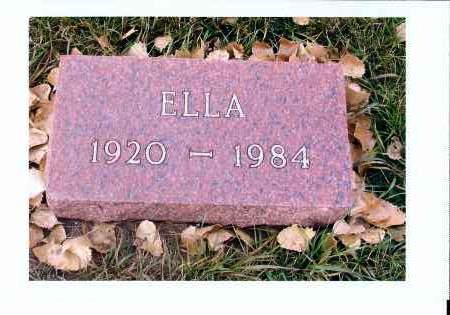 BERTSCH, ELLA - McIntosh County, North Dakota | ELLA BERTSCH - North Dakota Gravestone Photos