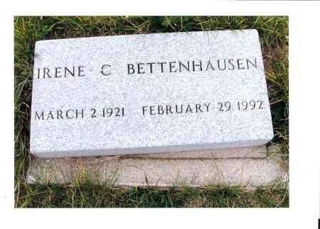 BETTENHAUSEN, IRENE C. - McIntosh County, North Dakota | IRENE C. BETTENHAUSEN - North Dakota Gravestone Photos