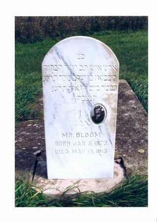 BLOOM, MR. - McIntosh County, North Dakota | MR. BLOOM - North Dakota Gravestone Photos