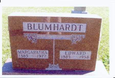 BLUMHARD, MARGARATHA - McIntosh County, North Dakota | MARGARATHA BLUMHARD - North Dakota Gravestone Photos