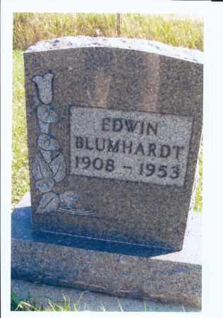 BLUMHARDT, EDWIN - McIntosh County, North Dakota   EDWIN BLUMHARDT - North Dakota Gravestone Photos