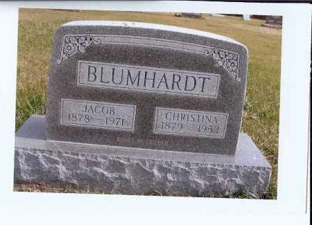 BLUMHARDT, JACOB - McIntosh County, North Dakota | JACOB BLUMHARDT - North Dakota Gravestone Photos