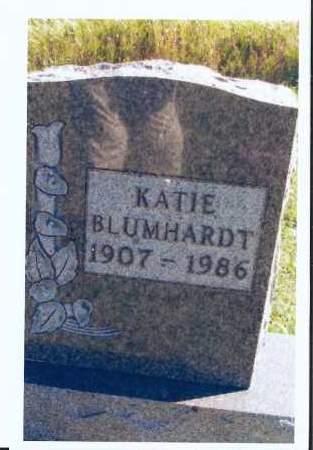 BLUMHARDT, KATIE - McIntosh County, North Dakota | KATIE BLUMHARDT - North Dakota Gravestone Photos