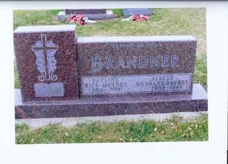BRANDNER, ALBERT - McIntosh County, North Dakota | ALBERT BRANDNER - North Dakota Gravestone Photos