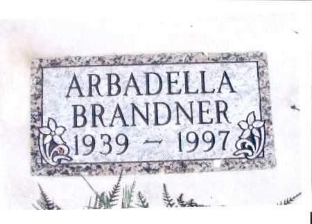 BRANDNER, ARBADELLA - McIntosh County, North Dakota | ARBADELLA BRANDNER - North Dakota Gravestone Photos