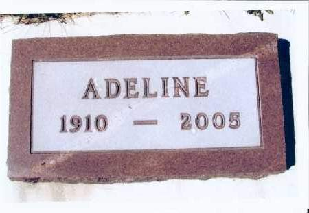 BRANDNER, ADELINE - McIntosh County, North Dakota | ADELINE BRANDNER - North Dakota Gravestone Photos