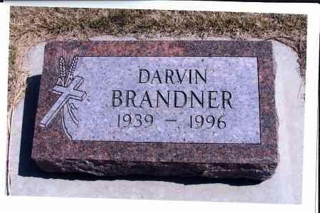 BRANDNER, DARVIN - McIntosh County, North Dakota | DARVIN BRANDNER - North Dakota Gravestone Photos