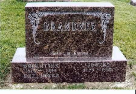 BRANDNER, EDWARD - McIntosh County, North Dakota | EDWARD BRANDNER - North Dakota Gravestone Photos