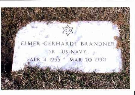 BRANDNER, ELMER GERHARDT - McIntosh County, North Dakota | ELMER GERHARDT BRANDNER - North Dakota Gravestone Photos