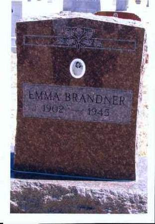 BRANDNER, EMMA - McIntosh County, North Dakota | EMMA BRANDNER - North Dakota Gravestone Photos