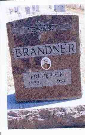 BRANDNER, FREDERICK - McIntosh County, North Dakota   FREDERICK BRANDNER - North Dakota Gravestone Photos