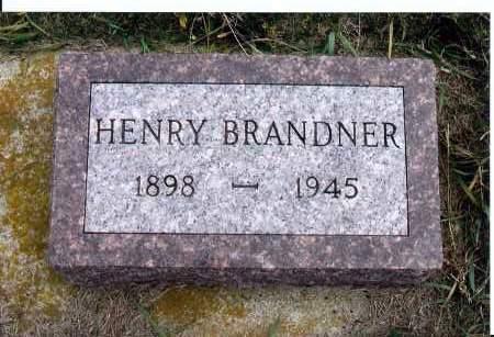 BRANDNER, HENRY - McIntosh County, North Dakota | HENRY BRANDNER - North Dakota Gravestone Photos