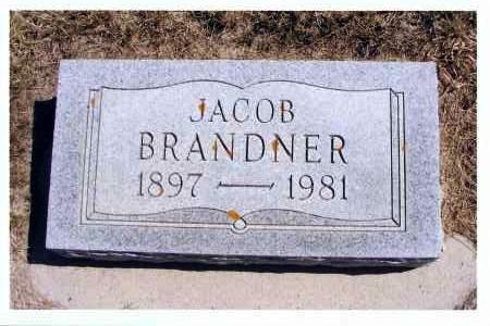 BRANDNER, JACOB - McIntosh County, North Dakota | JACOB BRANDNER - North Dakota Gravestone Photos