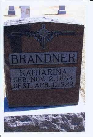 WITTMEYER BRANDNER, KATHARINA - McIntosh County, North Dakota | KATHARINA WITTMEYER BRANDNER - North Dakota Gravestone Photos
