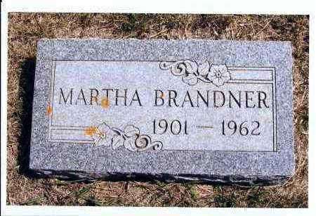 LAY BRANDNER, MARTHA - McIntosh County, North Dakota | MARTHA LAY BRANDNER - North Dakota Gravestone Photos