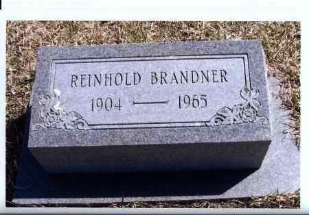 BRANDNER, REINHOLD - McIntosh County, North Dakota | REINHOLD BRANDNER - North Dakota Gravestone Photos