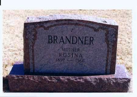 BRANDNER, ROSINA - McIntosh County, North Dakota   ROSINA BRANDNER - North Dakota Gravestone Photos