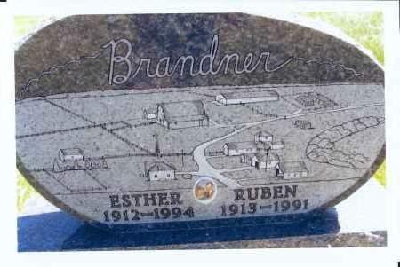 BRANDNER, RUBEN - McIntosh County, North Dakota | RUBEN BRANDNER - North Dakota Gravestone Photos