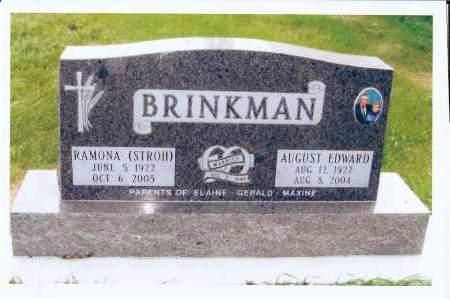 BRINKMAN, RAMONA - McIntosh County, North Dakota   RAMONA BRINKMAN - North Dakota Gravestone Photos