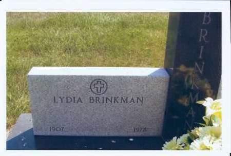 NILL BRINKMAN, LYDIA - McIntosh County, North Dakota   LYDIA NILL BRINKMAN - North Dakota Gravestone Photos
