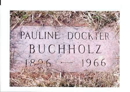BUCHHOLZ, PAULINE - McIntosh County, North Dakota | PAULINE BUCHHOLZ - North Dakota Gravestone Photos