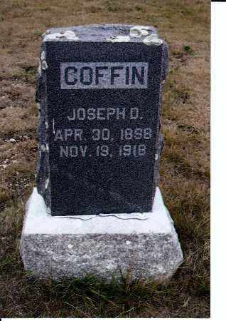 COFFIN, JOSEPH D. - McIntosh County, North Dakota | JOSEPH D. COFFIN - North Dakota Gravestone Photos