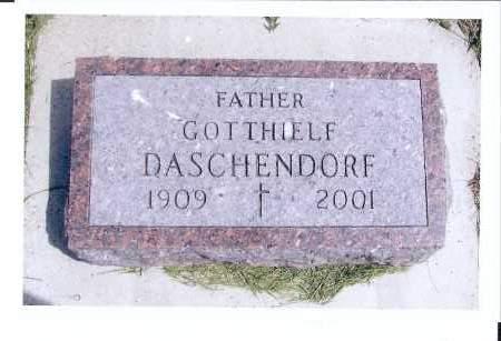DASCHENDORF, GOTTHIELF - McIntosh County, North Dakota | GOTTHIELF DASCHENDORF - North Dakota Gravestone Photos