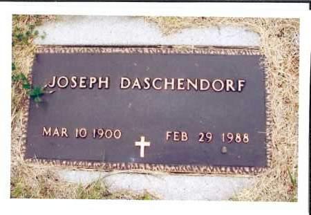 DASCHENDORF, JOSEPH - McIntosh County, North Dakota | JOSEPH DASCHENDORF - North Dakota Gravestone Photos
