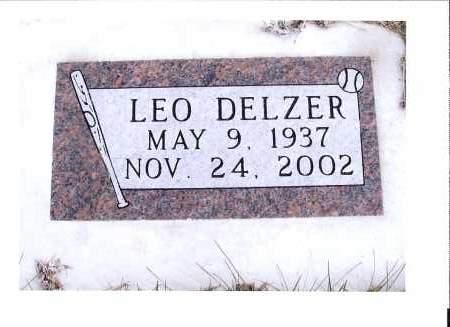 DELZER, LEO - McIntosh County, North Dakota   LEO DELZER - North Dakota Gravestone Photos