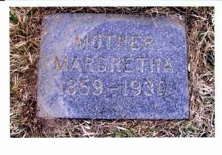 DEWALD, MARGARETHA - McIntosh County, North Dakota   MARGARETHA DEWALD - North Dakota Gravestone Photos