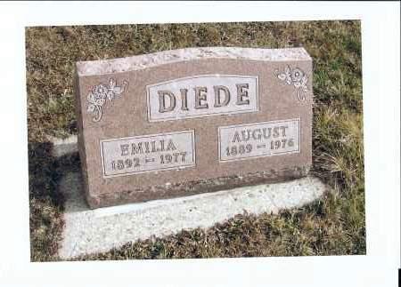 DIEDE, AUGUST - McIntosh County, North Dakota | AUGUST DIEDE - North Dakota Gravestone Photos