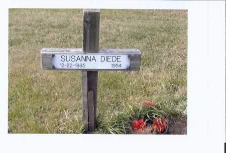 BERTSCH DIEDE, SUSANNA - McIntosh County, North Dakota | SUSANNA BERTSCH DIEDE - North Dakota Gravestone Photos
