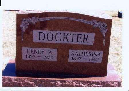 DOCKTER, HENRY A. - McIntosh County, North Dakota | HENRY A. DOCKTER - North Dakota Gravestone Photos