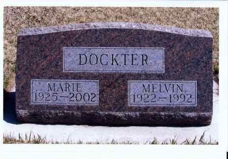 HEISER DOCKTER, MARIE - McIntosh County, North Dakota   MARIE HEISER DOCKTER - North Dakota Gravestone Photos