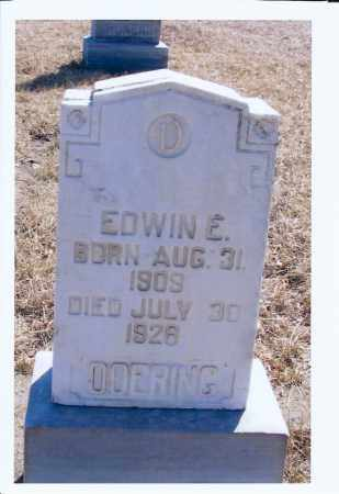 DOERING, EDWIN E. - McIntosh County, North Dakota | EDWIN E. DOERING - North Dakota Gravestone Photos