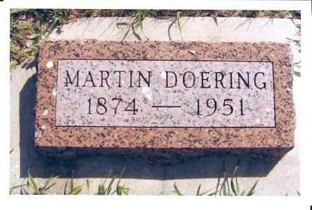 DOERING, MARTIN - McIntosh County, North Dakota | MARTIN DOERING - North Dakota Gravestone Photos