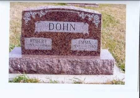 DOHN, EMMA - McIntosh County, North Dakota | EMMA DOHN - North Dakota Gravestone Photos